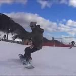 13-14 スノーボード 3D ground trick ピエロ グラトリ – YouTube